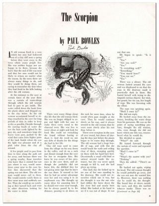 VIEW - SERIES V, NO.5 (DECEMBER, 1945) - SIGNED BY PAUL BOWLES