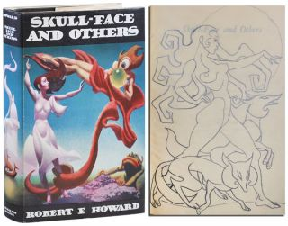 SKULL-FACE AND OTHERS - WITH AN ORIGINAL PENCIL SKETCH BY HANNES BOK TIPPED IN