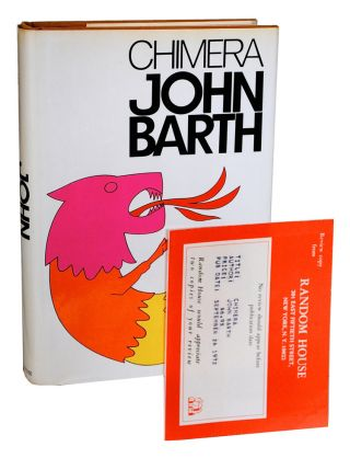 CHIMERA - REVIEW COPY, SIGNED. John Barth