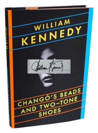 CHANGO'S BEADS AND TWO-TONE SHOES - SIGNED. William Kennedy