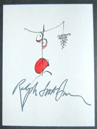 FEAR AND LOATHING ON THE CAMPAIGN TRAIL '72 - SIGNED BY RALPH STEADMAN AND GEORGE S. MCGOVERN....