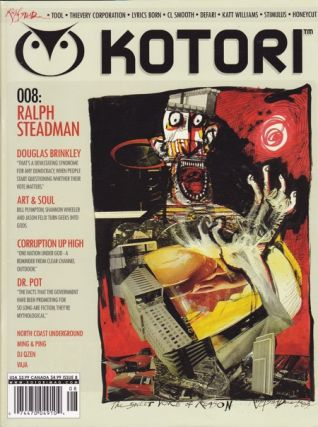 KOTORI MAGAZINE - ISSUE 8. Ralph Steadman
